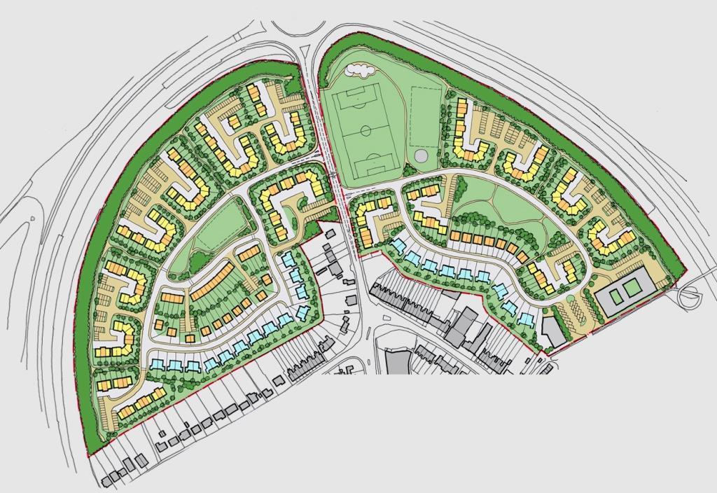 Residential Masterplan, Rochester, Kent