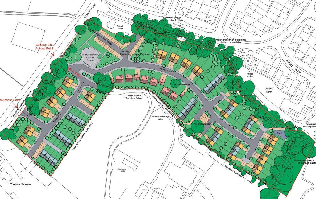 Residential Masterplan, Eastleigh, Hampshire