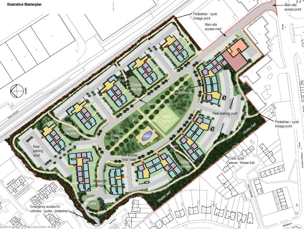 Residential Masterplan, Dukeminster Quarter, Dunstable, Bedfordshire