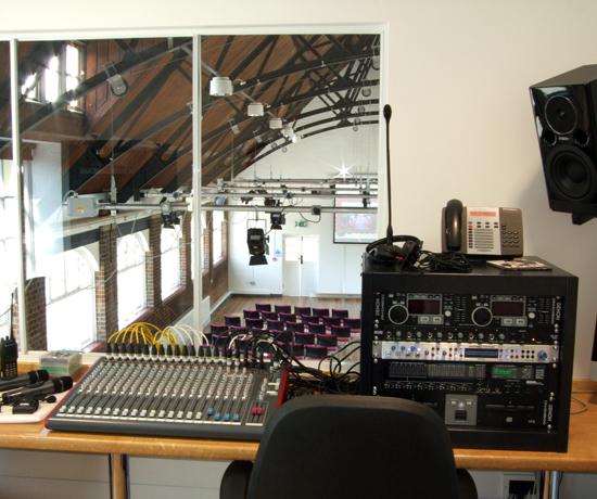 Village Hall Conversion, NCYPE, Lingfield, Surrey (photo by Future Media Systems Ltd)