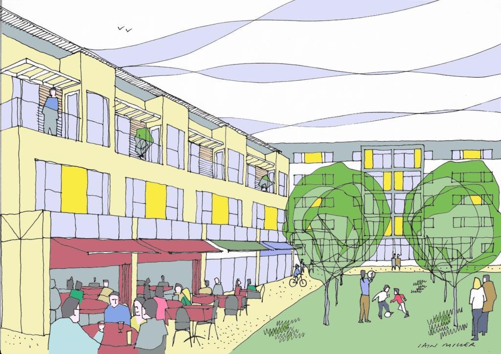 Courtyard Development, London