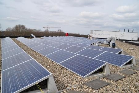 Solar Panels, Hartfield, East Sussex