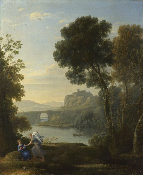 Claude Lorraine Landscape with Hagar and the Angel