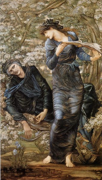 Edward Burne-Jones 'The Beguiling of Merlin' Lady Lever Art Gallery, Port Sunlight