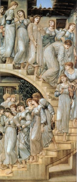 Edward Burne-Jones 'The Golden Stairs' Tate Britain, London