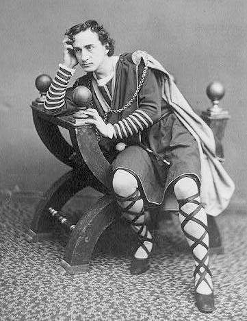Edwin Booth Hamlet 1870. PD, or not PD, that is the question.