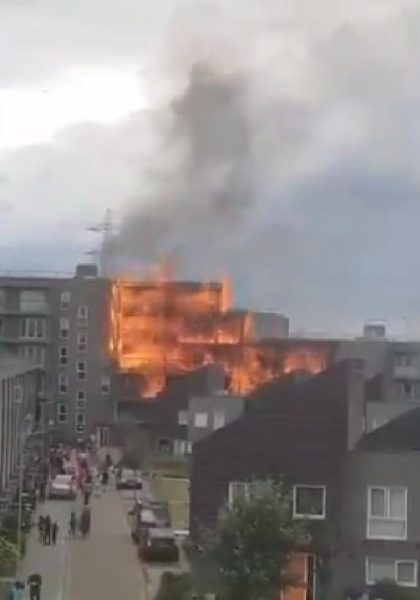 The Great Fire of Barking 9 June 2019