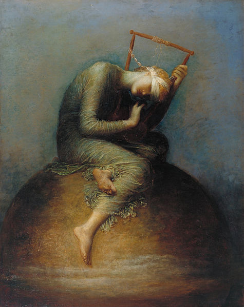 GF Watts 'Hope' photo Tate Britain
