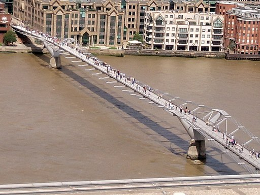 London Millenium Bridge photo Alison Wheeler
