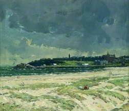 John Miller Showery Weather, St Andrews Glasgow Museums Collection