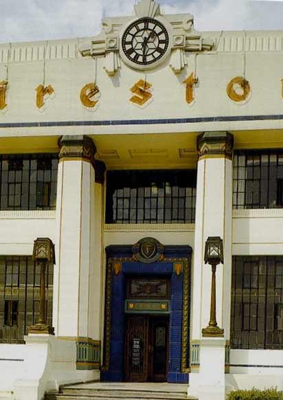 Firestone Factory, London - before demolition in 1980